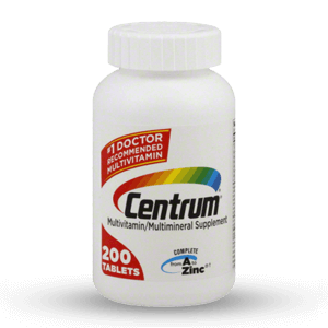 Centrum multivitamin and multimineral