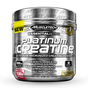 MUSCLETECH - Platinum 100% Creatine