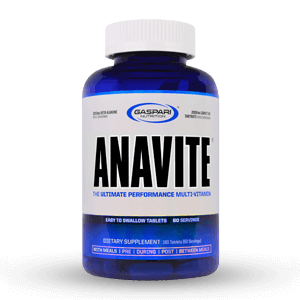 Gaspari Nutrition – ANAVITE Multi-Vitamin 180 Tablets