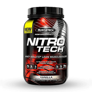 MUSCLETECH – NITRO TECH Performance Series 2lbs