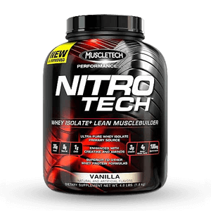 MUSCLETECH – NITRO TECH Performance Series 4lbs
