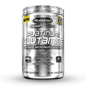 MUSCLETECH – Platinum 100% Glutamine Micronized