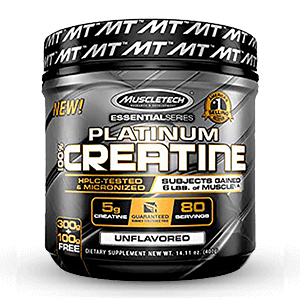 MuscleTech Platinum Creatine 400g 80 Servings