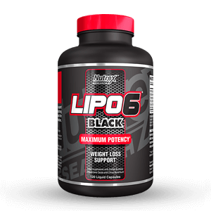 Nutrex Research Lipo 6 Black (New Formula)