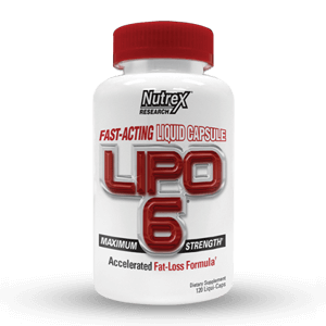 Nutrex Research - Lipo 6 white