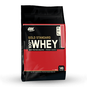 ON- Gold Standard 100% Whey Protein 10lbs