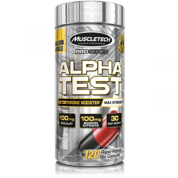 MT – AlphaTest Testosterone Booster Supplement